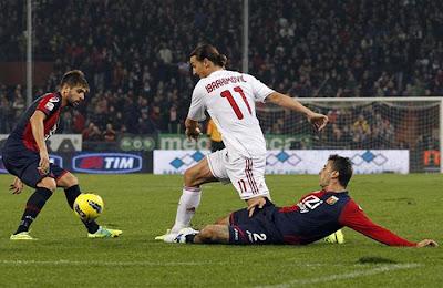 Genoa 0 - 2 AC Milan (1)