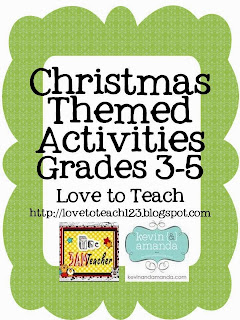 http://www.teacherspayteachers.com/Product/Christmas-Math-and-ELA-Printables-Grades-3-5-445379
