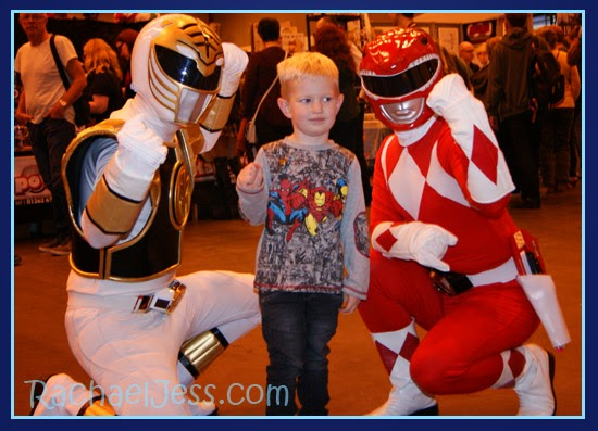 Power Rangers at ComiCon