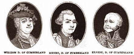 The Dukes of Cumberland from The Georgian Era by Clarke 1832