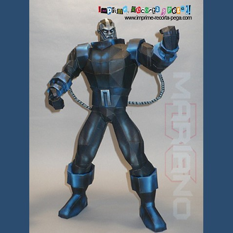 iron man paper model pdf