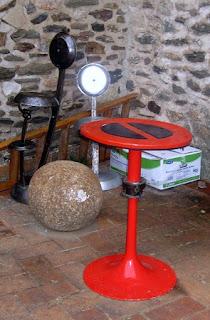 Mesas Recicladas, Picos y Cacerolas, Arte Funcional y Ecoresponsable