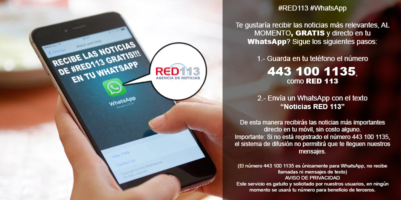 Red113 en tu WhatsApp