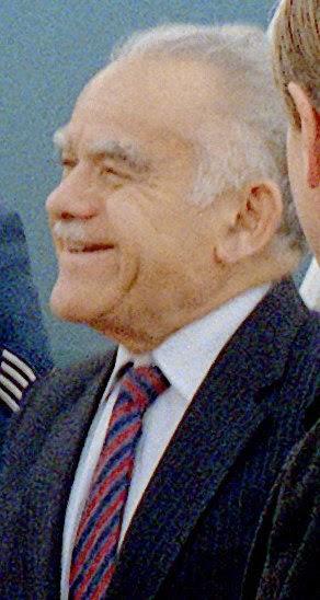 Yitzhak Shamir.  (Photo from Wikimedia Commons)