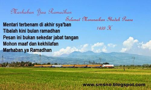 SMS Ucapan Selamat Ramadhan