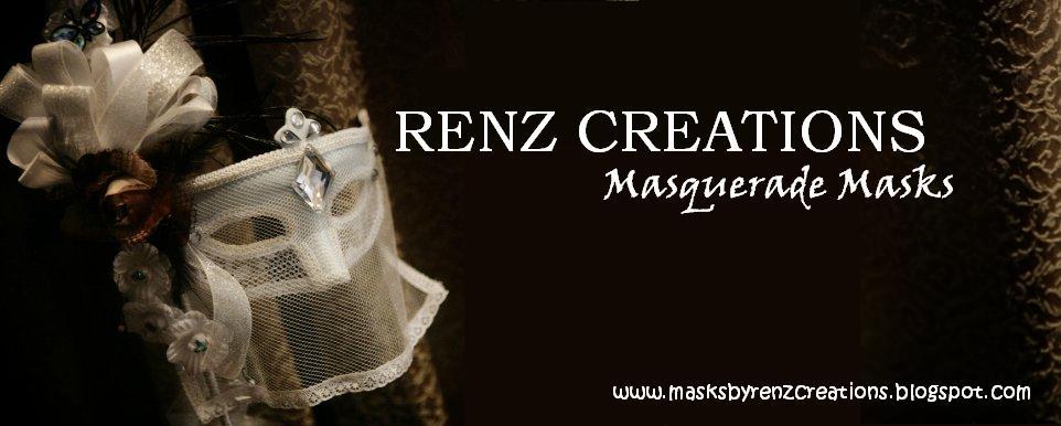 Renz Creations: Masquerade Masks