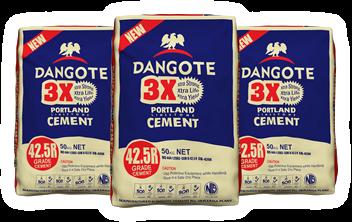 Dangote 3X Cement