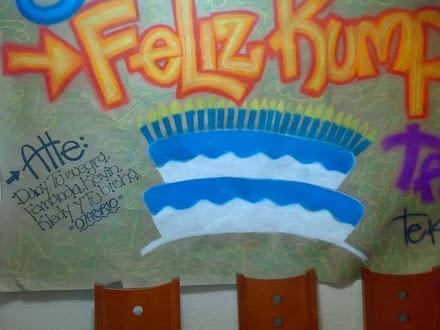 Carteles de feliz cumpleaños caseros - Imagui