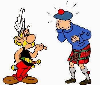 traduccion comics asterix y tintin más idiomas