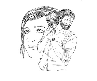 #1 The Last of Us Coloring Page