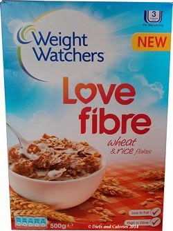 Weight Watchers breakfast cereal wheat rice flakes