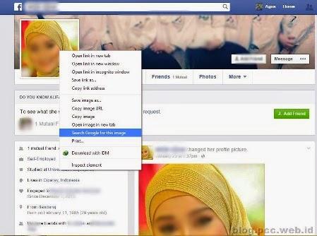 Cara Mengetahui Keaslian Foto Profil di  Facebook