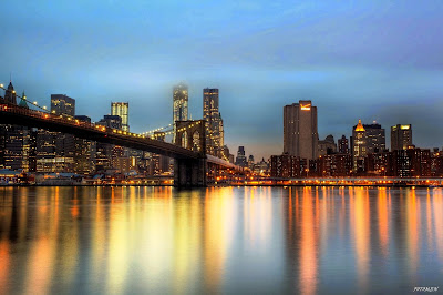 New york at night brooklyn wallpaper