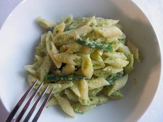 Asparagus and Ricotta Pasta