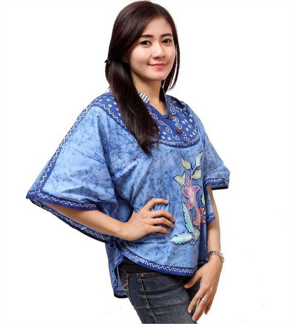 Kumpulan Model Kemeja Batik Wanita Gemuk Terbaru 2019 Website