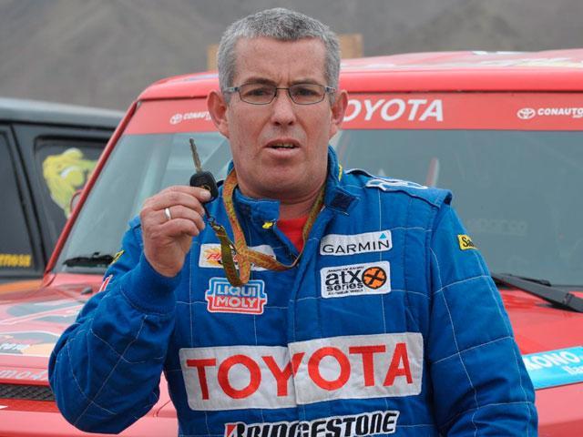 Luis Antonio Mendoza Dakar 2013