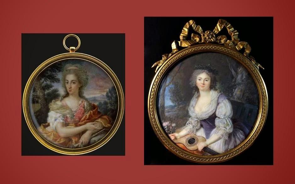 Damas de blanco colecci n miniaturas mart nez lanzas de - Appiani dama ...