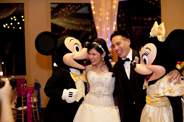 Special Guests - Disneyland Wedding {Sarina Love Photography}