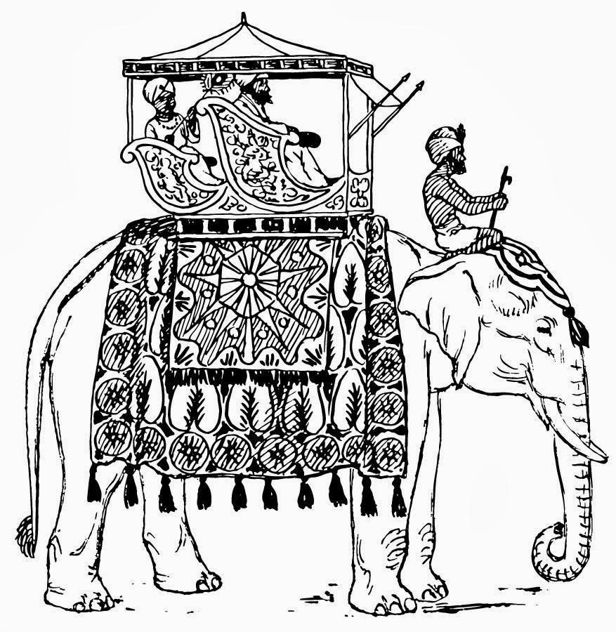 elephant in india 13357