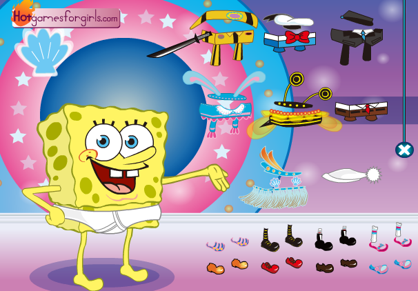 spongebob games free online for toddlers
