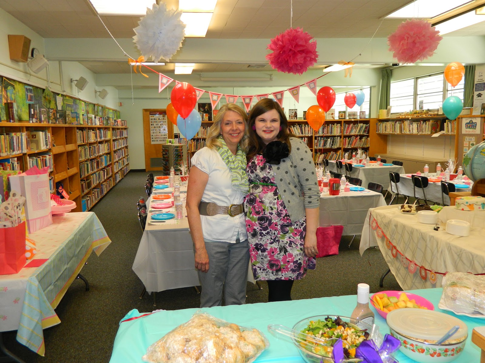 Polka Dotty Place Teacher Friend Baby Shower