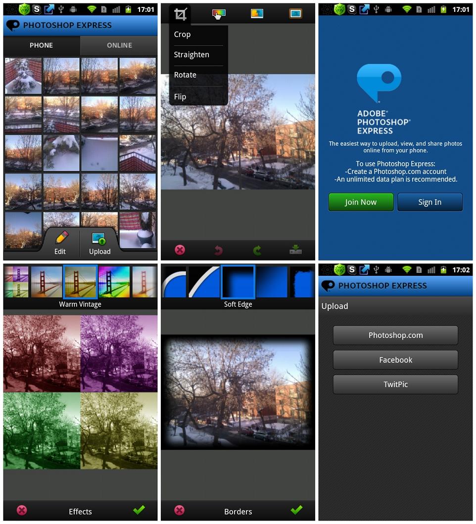 Как сделать фотошоп на андройде