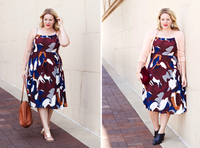 one dress for summer into fall