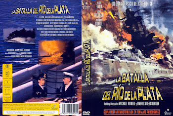 Carátula dvd: La Batalla del Río de la Plata (1956)(The Battle of the River Plate)