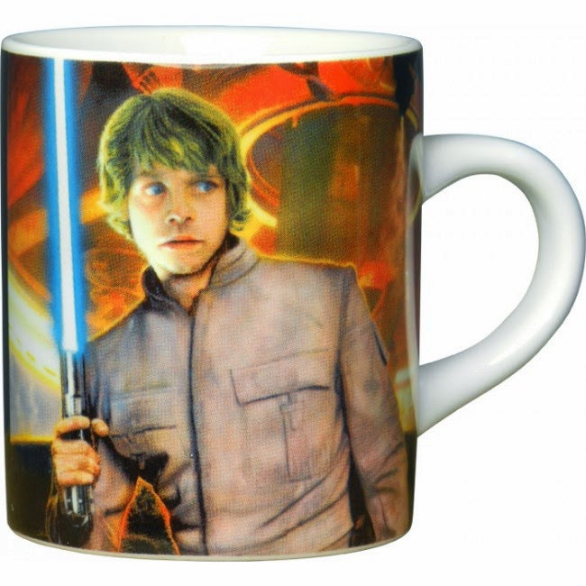 Mini Taza Luke Skywalker
