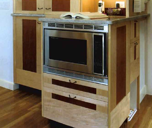 Right Hinged Countertop Microwave : Kitchen Remodeling Photos: Kitchen Oven Photos 04