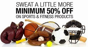 Enjoy Flat 50% Off on Sports & Fitness Products @ Flipkart