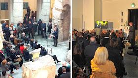 Area archeologica dello Stadio di Domiziano in Roma location per eventi, presentazioni, mostre e convegni