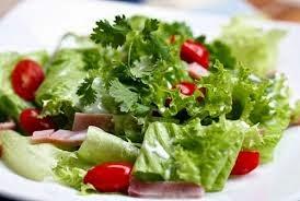 Giảm cân đơn giản với salat rau xanh