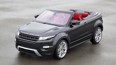 Giá xe Range Rover Evoque mui trần mới ra mắt