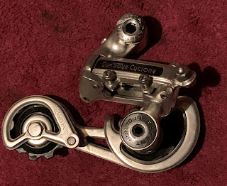 ~ NOS Suntour BP-100 Rear Derailleur Sealed Bearing Pulley Set Roller Assembly ~