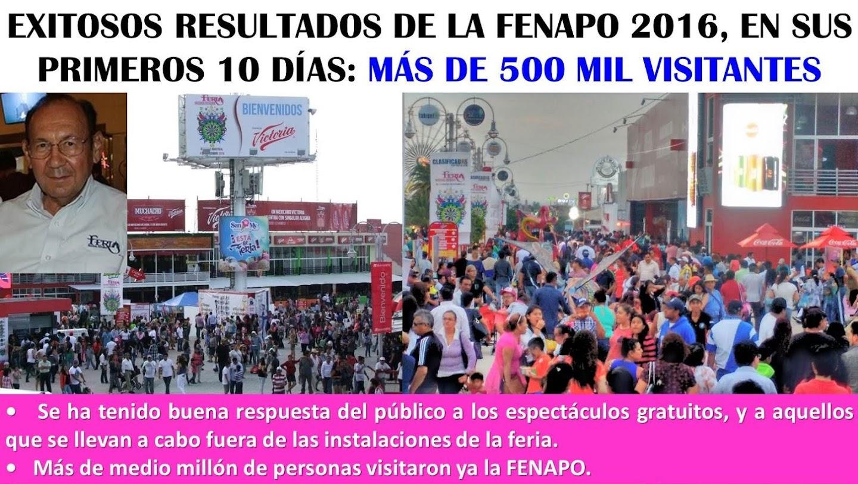 FENAPO 2016: LA MEJOR FERIA DEL VERANO EN MÉXICO, Y EN EL MUNDO.