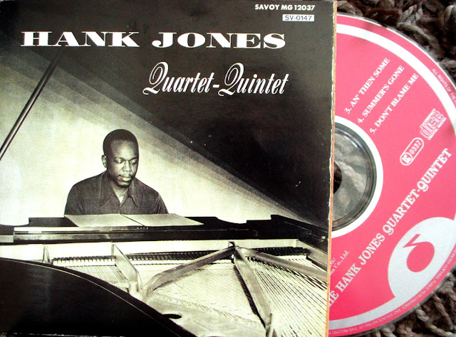 Hank Jones - The Hank Jones Quartet-Quintet on Savoy Jazz 1955 / Denon 1991
