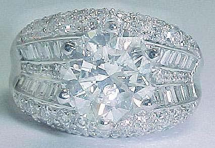 big diamond rings - Big Diamond Wedding Rings