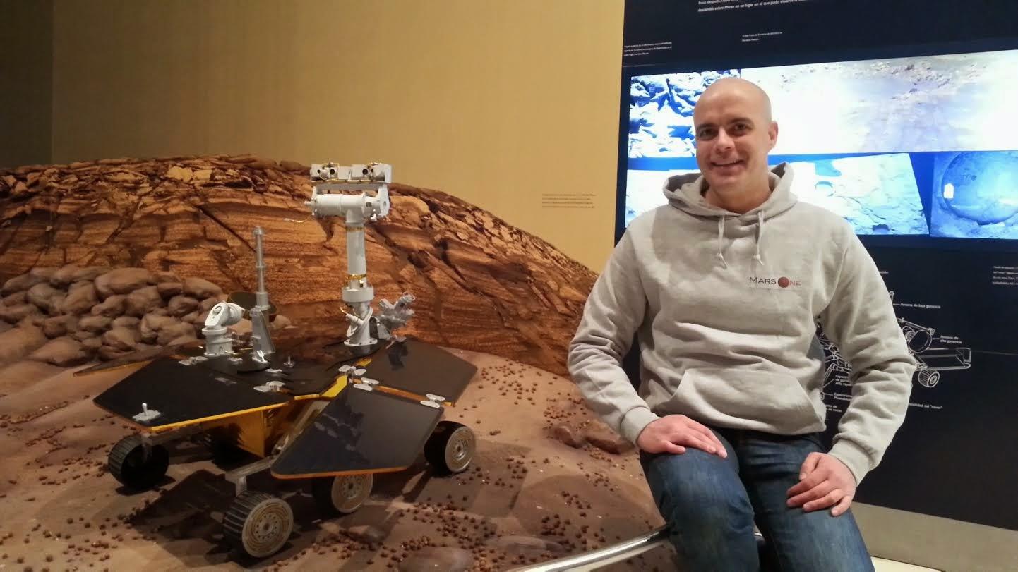 Juanjo Diaz, participante de Mars One,