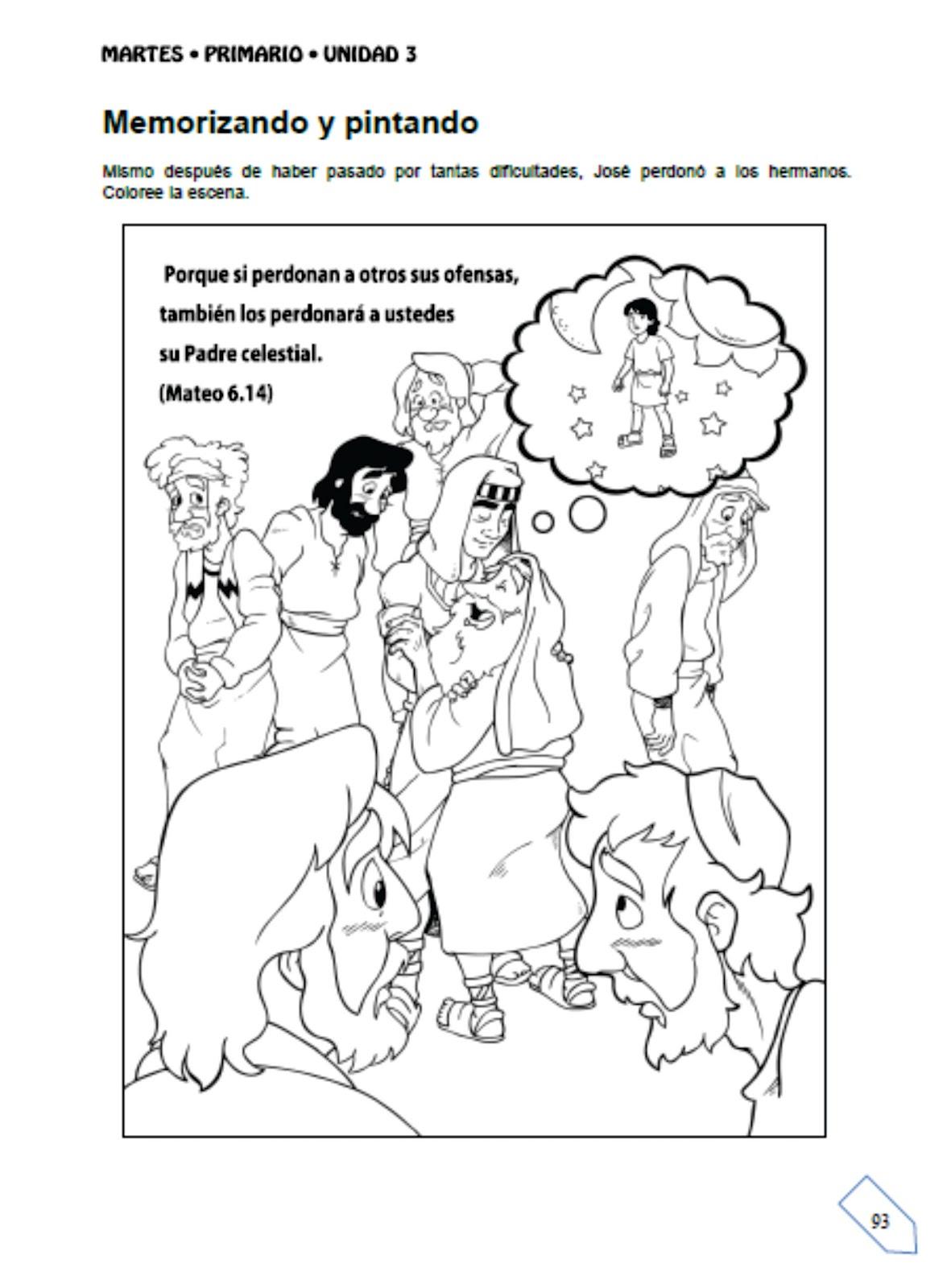 Excelente Biblia Historia Para Colorear Joseph Elaboración - Dibujos ...