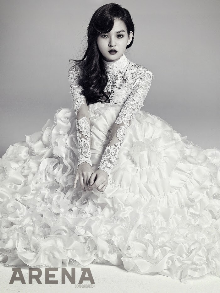 Kim Yoon Hye - Arena Homme Plus January 2014