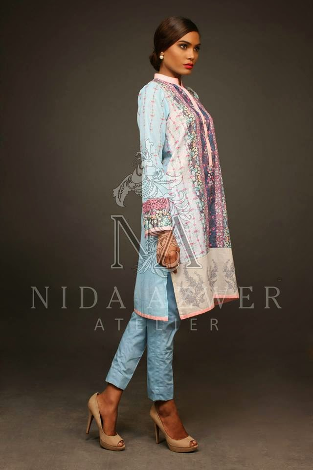 Nida Azwer Eid Lawn Collection