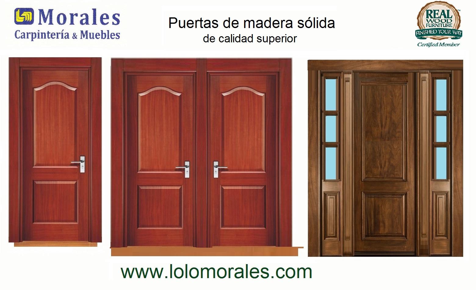 Donde venden puertas de madera baratas materiales de for Puertas de entrada de madera baratas