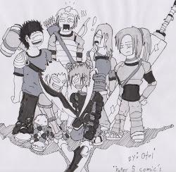 Paper 5 comic indies....
