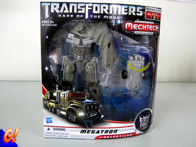 Transformers: Dark of the Moon Voyager Megatron Review