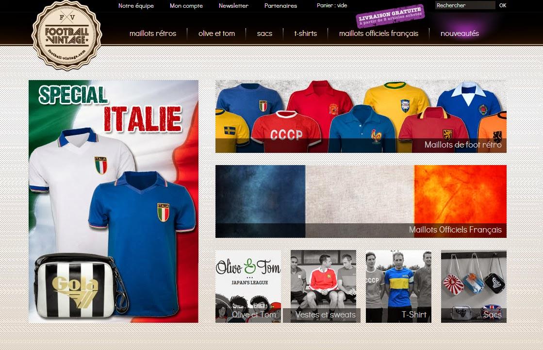 Jeu concours en octobre gagnez un maillot et deux tee shirts de football e - Magasin vintage en ligne ...