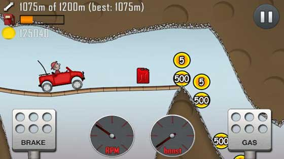 Hill Climb Racing game for android,android game,free android game download