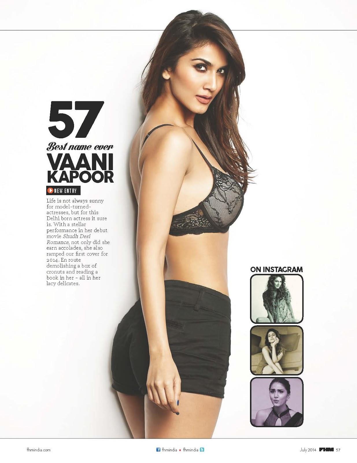 Sexiest Vani Kapoor photo