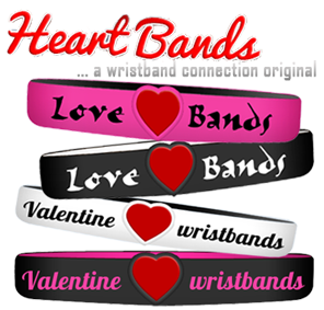 valentine day wristband