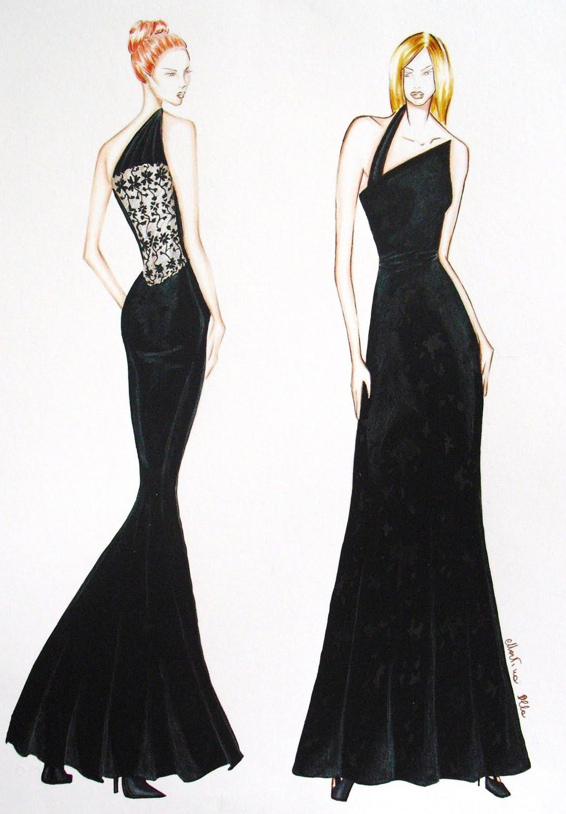 Super Martina Olla Fashion Design: Figurini di moda collezione A/I 2005/06 EL23